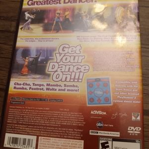 Playstation 2 Dancing with the stars video game